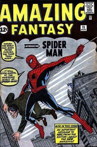 Amazing Fantasy Spiderman Number 15