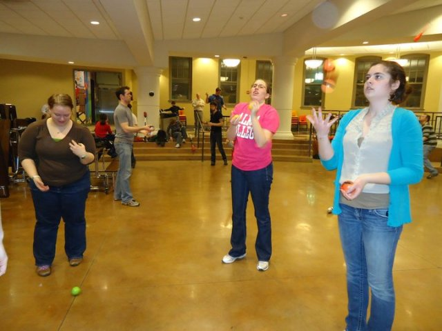 juggling club
