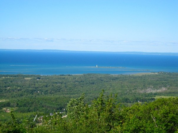 Picture of Georgian Bay looking northwest